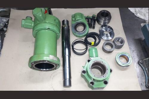 hydraulikzylinder zusammenbauen, zusammenstellen, hydraulikzylinder montieren, mongage